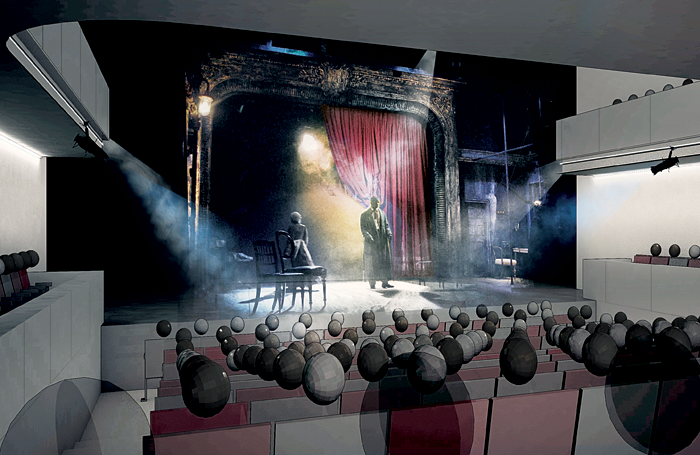 Architect's impression of the redesigned auditorium. Image: Chapman Waterworth