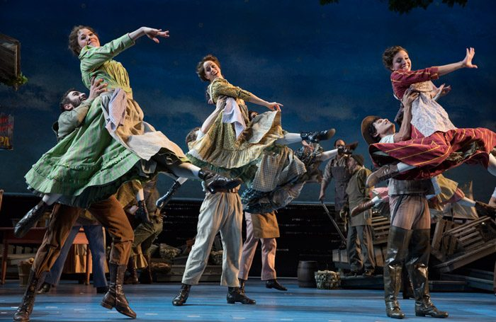 Scene from Carousel at Imperial Theatre, New York. Photo: Julieta Cervantes