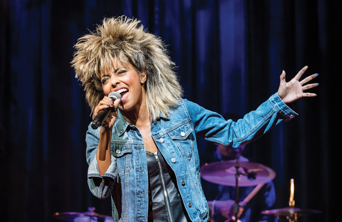 Adrienne Warren in Tina! The Tina Turner Musical. Photo: Manuel Harlan