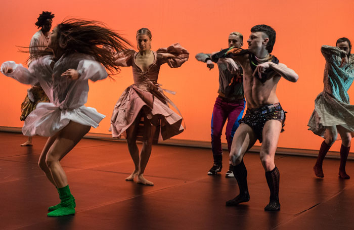 Scene from Cowpuncher at Southbank Centre, London. Photo: Pete Woodhead