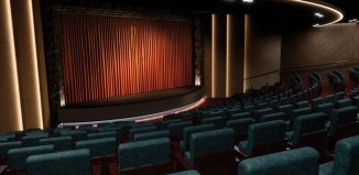 The theatre on board Saga Cruises' Spirit of Discovery