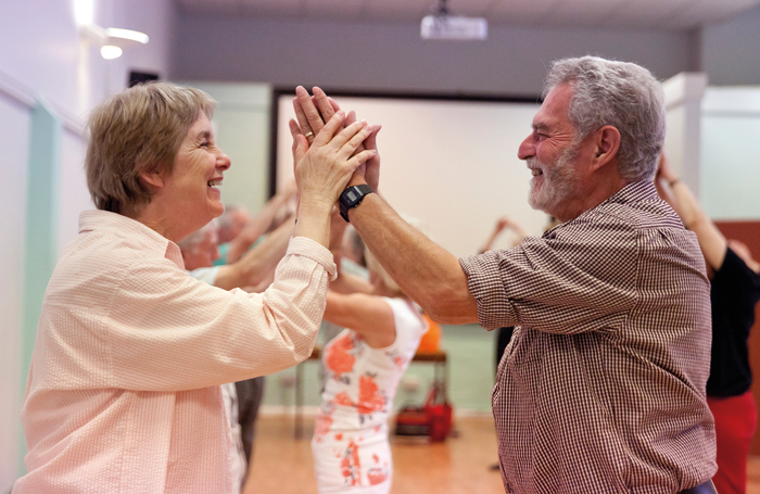 Participants in English National Ballet's Dance for Parkinson's. Photo: Rachel Cherry