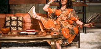 Roisin Gallagher as Beverly in Abigail's Party at the MAC, Belfast. Photo: Melissa Gordon