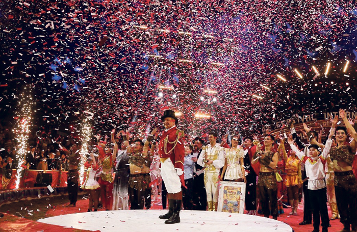 The 42nd Monte Carlo International Circus Festival. Photo: Frederic Nebinger