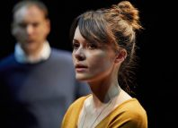 Lisa Diveney as Sophie in Tremor at the Sherman Theatre. Photo: Mark Douet