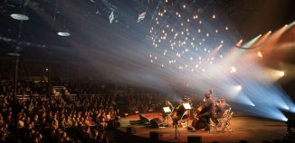 Music performance at London's Roundhouse. Photo: John Williams