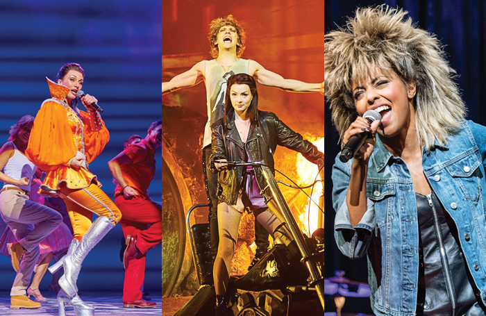 Mamma Mia!/Bat Out of Hell/The Tina Turner Musical. Photos: Brinkhoff Mogenburg/Specular/Manuel Harlan