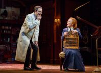 Harry Hadden-Paton and Lauren Ambrose in My Fair Lady at the Vivian Beaumont Theater, New York. Photo: Joan Marcus