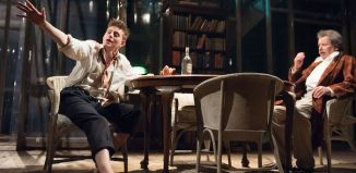 Lorn Macdonald (L) and George Costigan in Long Day's Journey Into Night at Citizens Theatre. Photo: Tim Morozzo