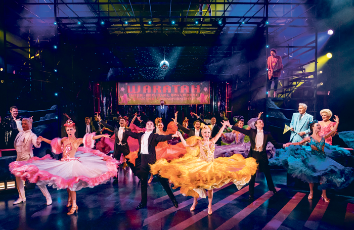 The cast of Strictly Ballroom. Photo: Johan Persson