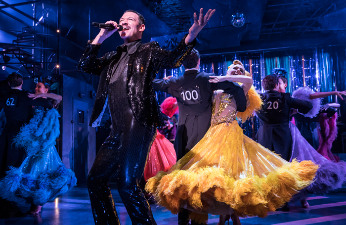 Will Young in Strictly Ballroom The Musical. Photo: Johan Persson