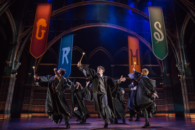 The Broadway production of Harry Potter and the Cursed Child. Photo: Matthew Murphy
