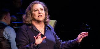 Kathleen Turner in Finding My Voice at the Other Palace, London. Photo: Nick Rutter