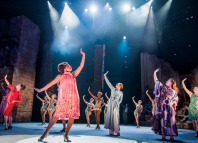 Follies at the National, with lighting design by Paule Constable. Photo: Tristram Kenton