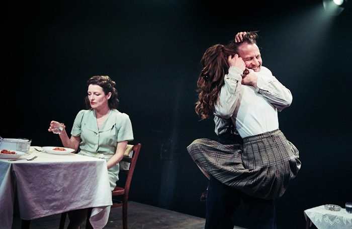 The cast of A View From the Bridge at Tobacco Factory Theatres, Bristol. Photo: Mark Dawson