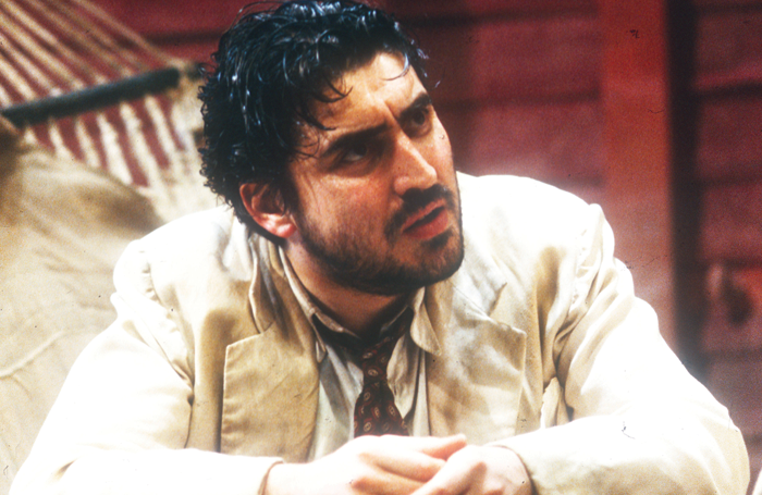 Molina in The Night of the Iguana at the National Theatre in 1992. Photo: Tristram Kenton
