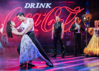 Zizi Strallen and Jonny Labey in Strictly Ballroom The Musical. Photo: Johan Persson