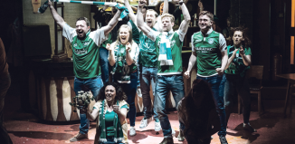 Cast of Sunshine on Leith. Photo: Manuel Harlan
