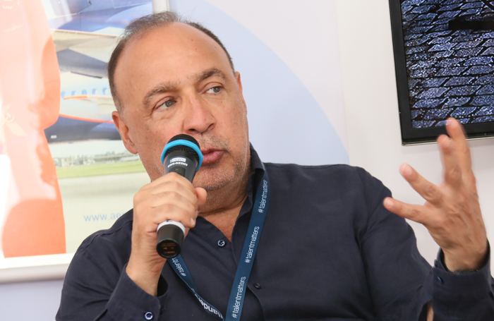 Leonard Blavatnik speaking at Cannes Film Festival last year. Photo: Shutterstock