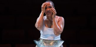 Golda Rosheuvel in Othello at Liverpool Everyman. Photo: Jonathan Keenan