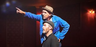 Conor Lovett and Stephen Dillane in Samuel Beckett's How It Is (Part One). Photo: Ros Kavanagh