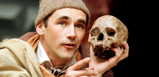 Mark Rylance in Hamlet at Shakespeare's Globe in 2000. Photo: Tristram Kenton