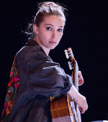 Seana Kerslake in Mood Music. Photo: Tristram Kenton