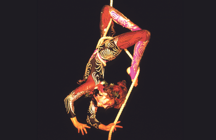 Truman in her 1988-2002 solo show Firebird
