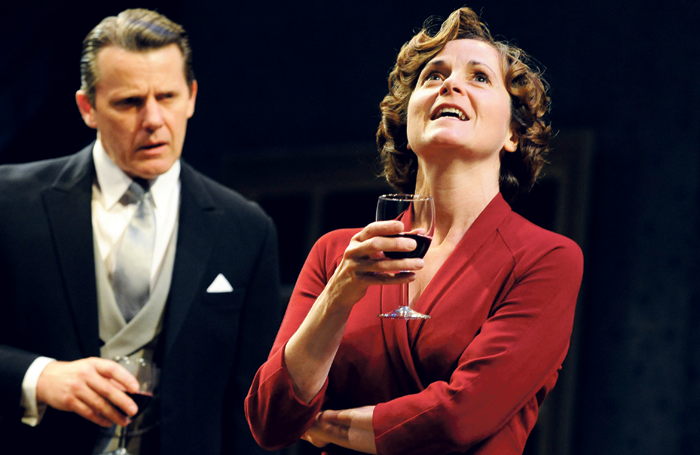 Anthony Calf and Root in The Deep Blue Sea at Chichester Festival Theatre in 2011. Photo: Tristram Kenton