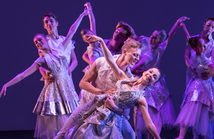 Cinderella, being performed by Ballet Central during its tour at the Yvonne Arnaud Theatre, Guildford. Photo: Bill Cooper