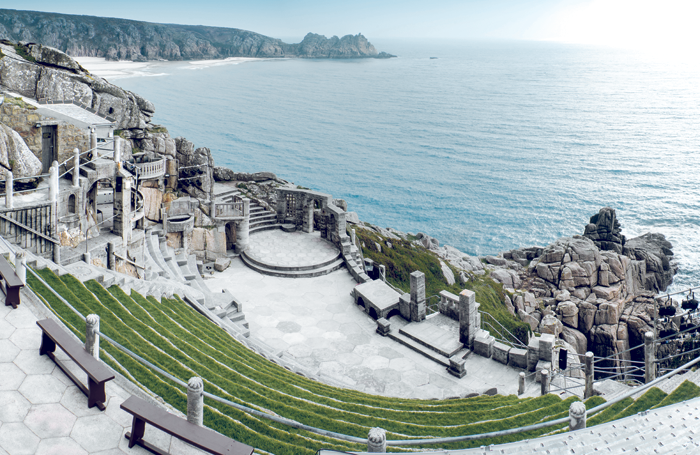 The Minack Theatre in Cornwall. Photo: Matt Gibson/Shutterstock