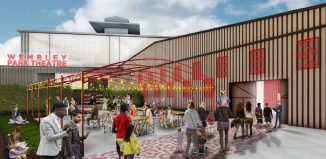 Artist's impression of the new Troubadour Wembley Park Theatre