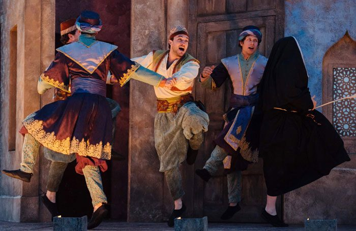 The Lord Chamberlain's Men's production of The Comedy of Errors. Photo: Jack Offord