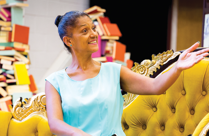 Cathy Tyson in The Importance of Being Earnest. Photo: Tom Wren