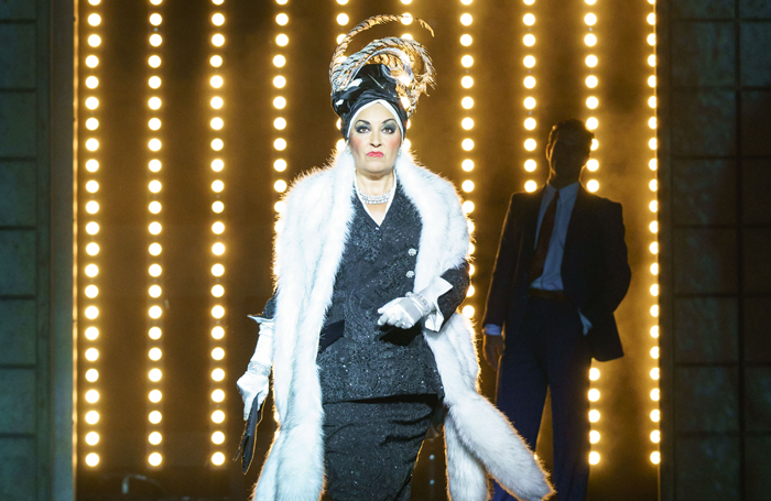 Ria Jones in Made  at Curve's staging of Sunset Boulevard last year. Photo: Manuel Harlan