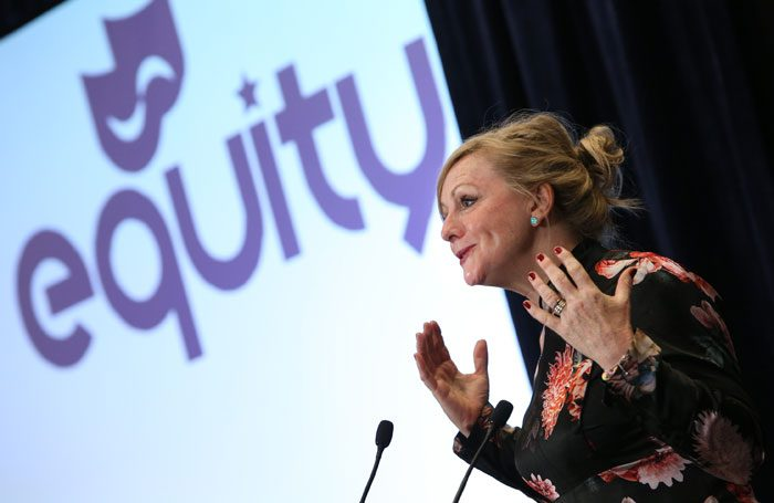 Tracy Brabin at the Equity ARC. Photo: Phil Adams