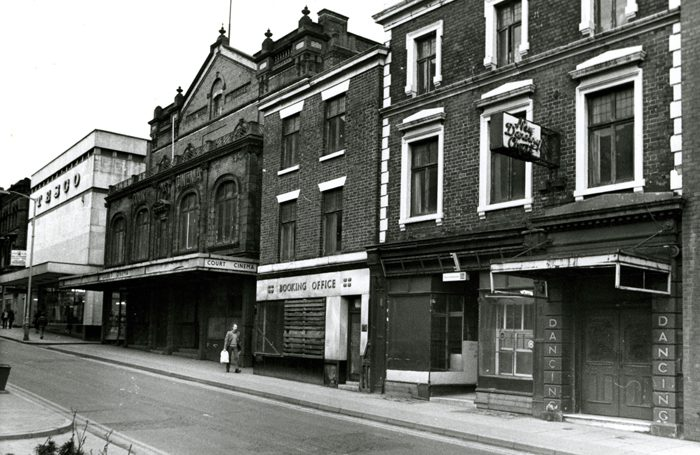 Royal Court Theatre on King Street, Wigan. Photo: Wigan Archives and Local Studies (Wigan Council)