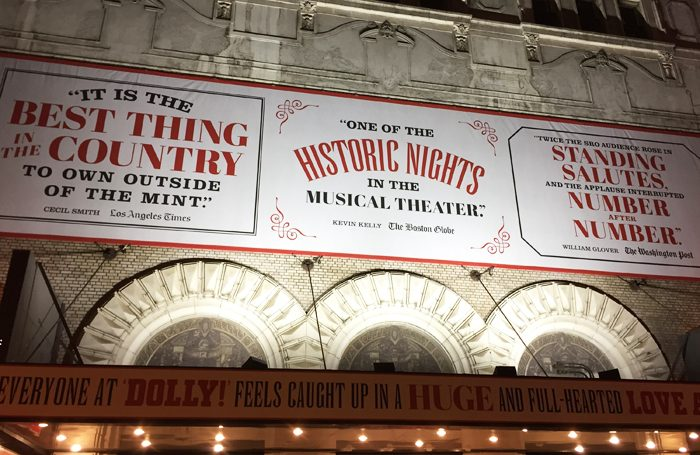 Hello Dolly! on Broadway. Photo: Richard Jordan