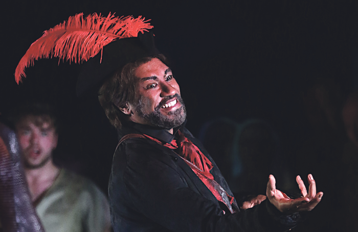 Mark S Doss as Mephistopheles in Faust last year. Photo: Fritz Curzon