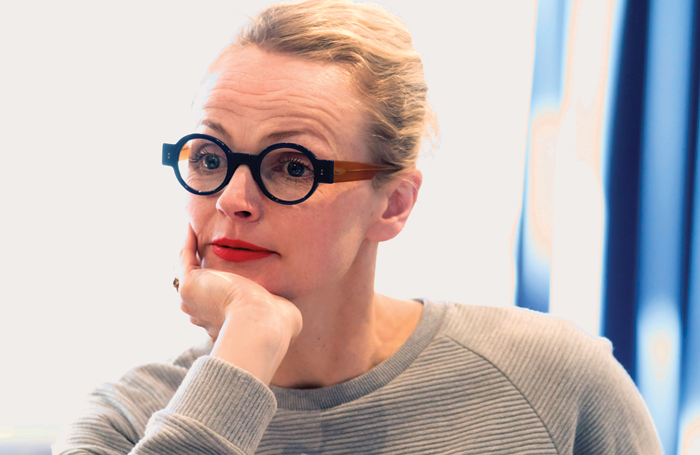 Maxine Peake in rehearsals for Happy Days. Photo: Johan Persson