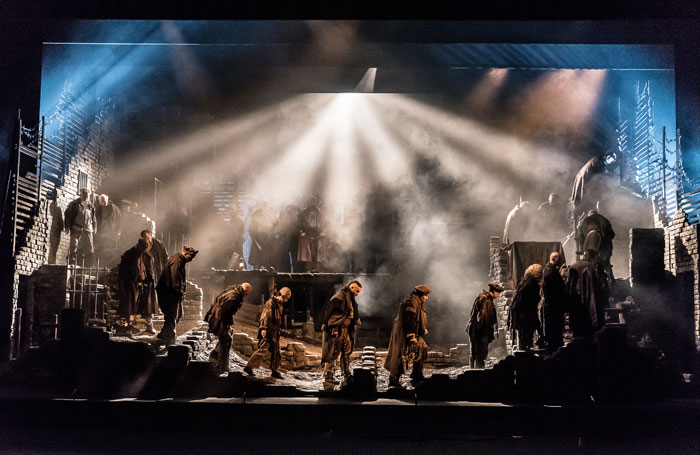 Welsh National Opera's production of From the House of the Dead. Photo: Clive Barda
