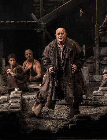 Mark Le Brocq in From the House of the Dead by Welsh National Opera. Photo: Clive Barda