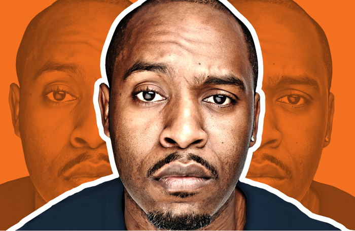 Dane Baptiste's show G O D is among those available on the service. Photo: Soho Theatre