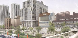 Arts organisations based at the new site include the V&A, Sadler's Wells, BBC and University of the Arts London