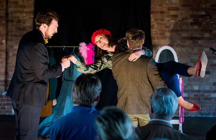 Pop-Up Opera has had to adapt its performances since the equipment and props were stolen. Photo: Robert Workman