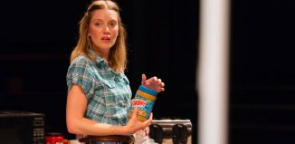 Robyn Addison in Utility at Orange Tree Theatre, Richmond. Photo: Helen Murray