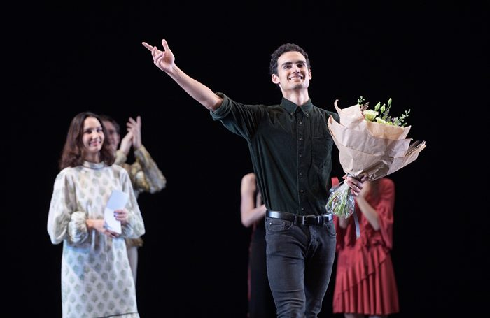 Winner of the 2018 Emerging Dancer Award, Daniel McCormick. Photo: Laurent Liotardo