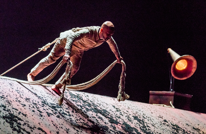 Akram Khan in Xenos at Sadler's Wells. Photo: Tristram Kenton