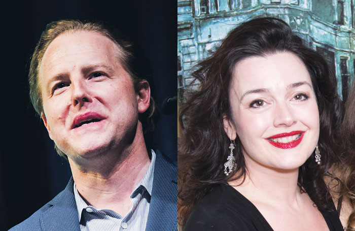 Samuel West and Dianne Pilkington are among actors warning against earlier West End start times. Photos: Alex Brenner/Craig Sugden