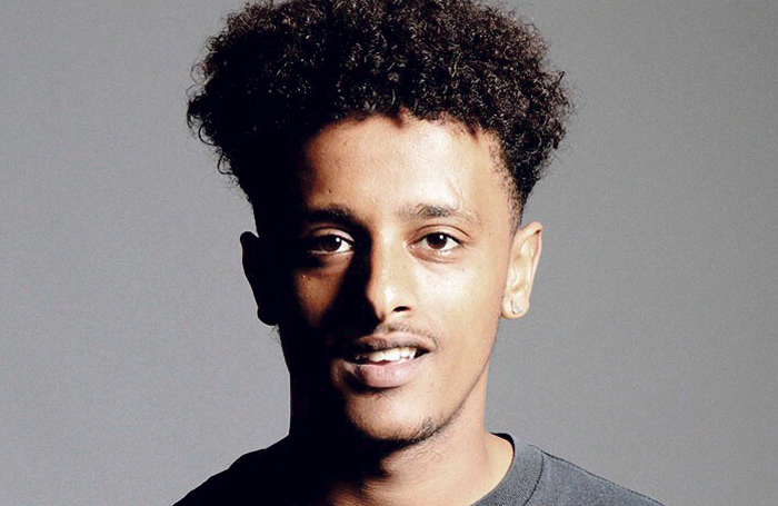 Last year's The Stage and Rose Bruford scholarship winner Yadel Gebeyehu